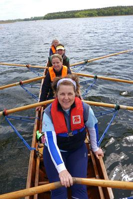 Susi, Christine, Heike und Frauke.