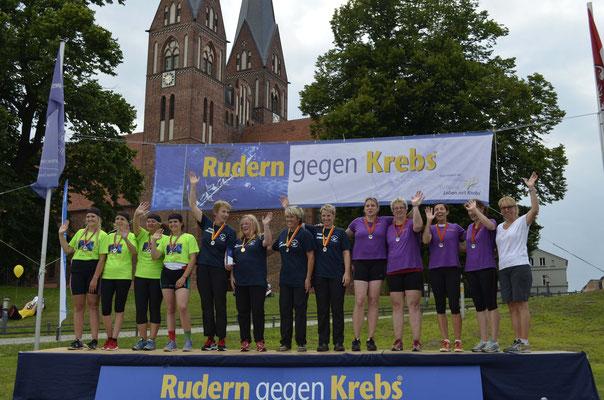 Siegerehrung Frauenfinale