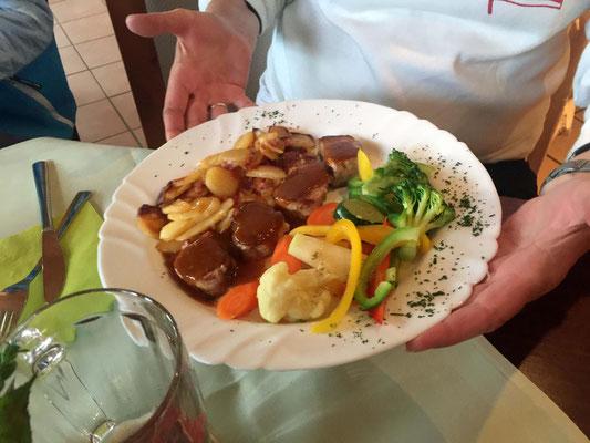 vorzügliche Essen in Entenhausen verdient.