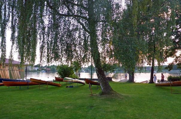Boote für morgen liegen bereit.
