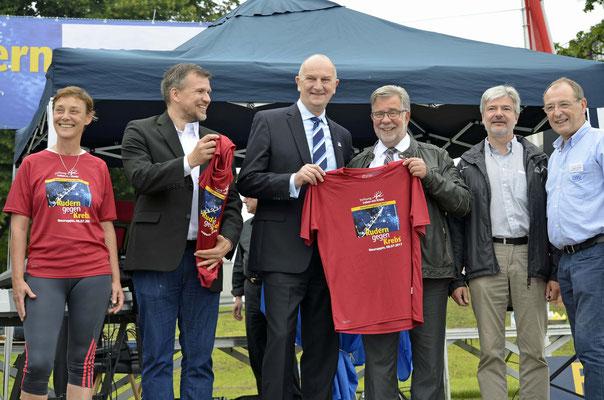 mit Landrat und Bürgermeister