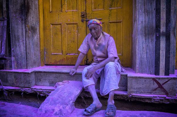 Sfilata di Holi Festival in Mathura _ India 2016