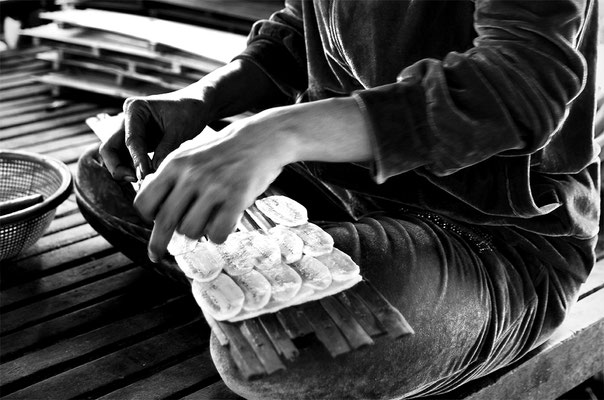 Fabbrica di Banana Chips_Cambogia 2015