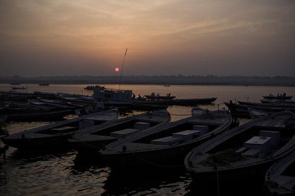 Alba sul Gange _ India 2016