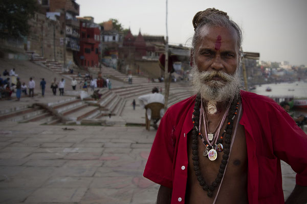 Santone a Varanasi _ India 2016