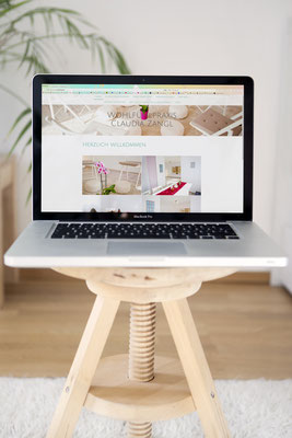 Website Claudia Zangl von Kath Visual
