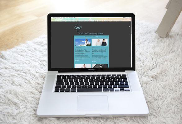Website VLIRT. Das Flirttraining. von Kath Visual