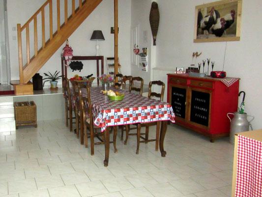 Salle à manger - Meublé de tourisme 3 étoiles proche du lac de Madine
