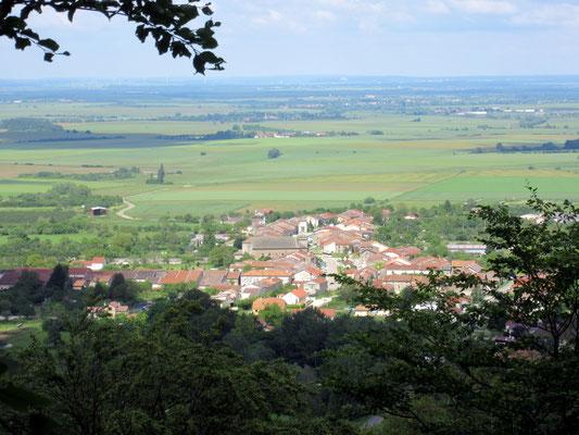 Hannonville-sous-les-Côtes - Vue de la côte
