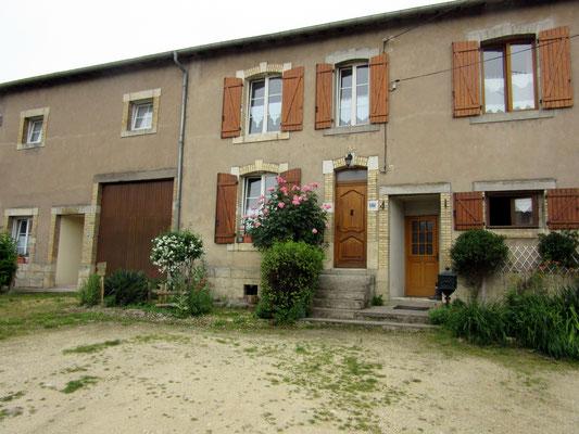 Façade du gîte - Hannonville-sous-les-Côtes