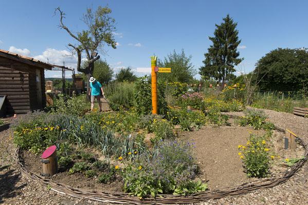 Eco-jardin - Hannonville-sous-les-Côtes - Maison des arts et traditions ruales