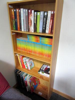 Petit salon détente - Bibliothèque