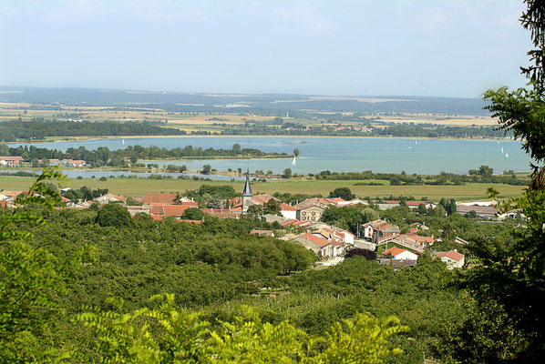 Lac de Madine en Meuse