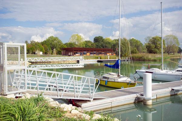 Port de plaisance - Lac de Madine