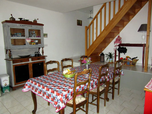 Salle à manger - Meublé de tourisme 3 étoiles à Hannonville-sous-les-Côtes