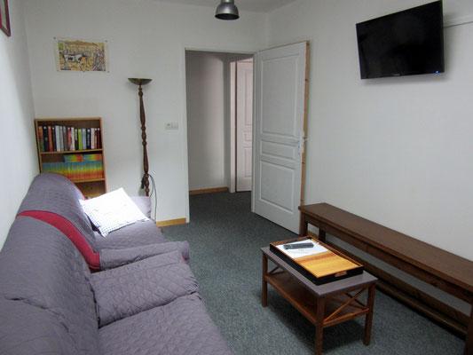 Petit salon détente - Location de vacances proche de Verdun