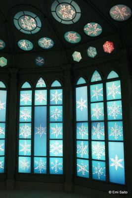 *雪の美術館