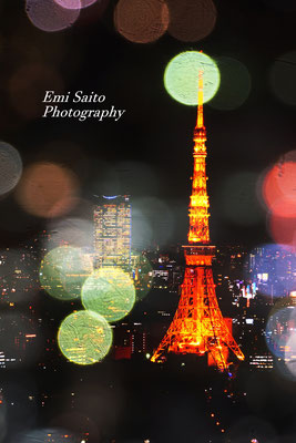 「エプソン賞」受賞作品。東京タワーの夜景