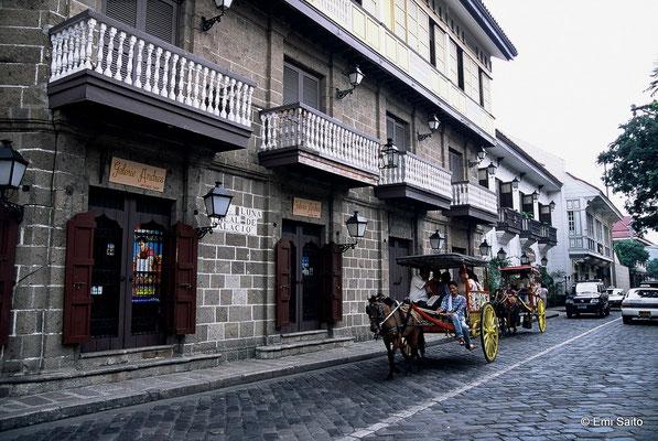 マニラの旧市街