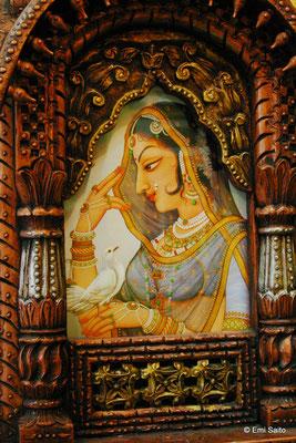 インド女性の画