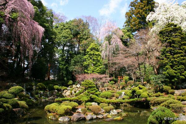 *恵林寺庭園