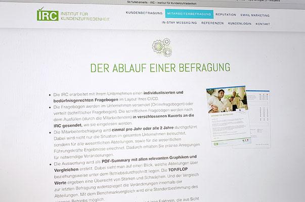 IRC – Visual Identity inkl. Logo, Webseite und Drucksachen