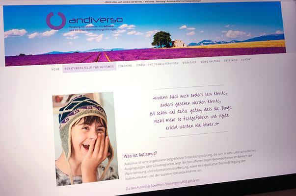 Andiverso – Visual Identity inkl. Naming, Logo, Briefschaften und Webseite