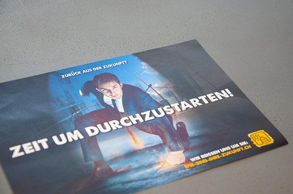 Andy Wickart Haustechnik AG – Design Jobflyer und Webseite