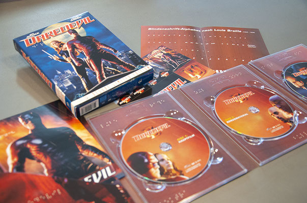 Plazavista Entertainment – Packagedesign «Daredevil» DVD-Release