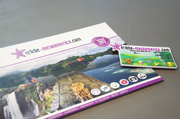 Erlebe Mesoamerica – Visual Identity inkl. Logodesign, Messestand und Katalog