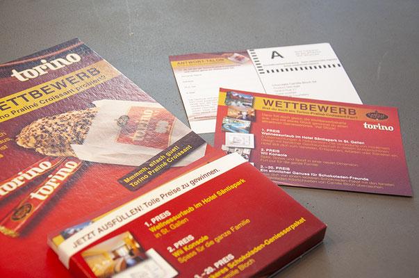 Margo-CSM Schweiz AG – Kreation eines Thekenstellers für Torino