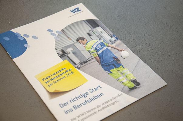 WWZ – Design diverser Flyer und Broschüren