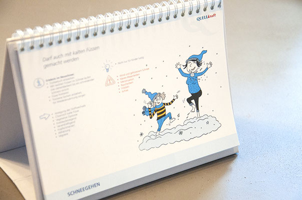 Quellkraft – Kneipp-Kalender als Kundengeschenk