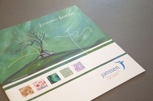 Janssen Cilag AG – Kreation der Imagebroschüre