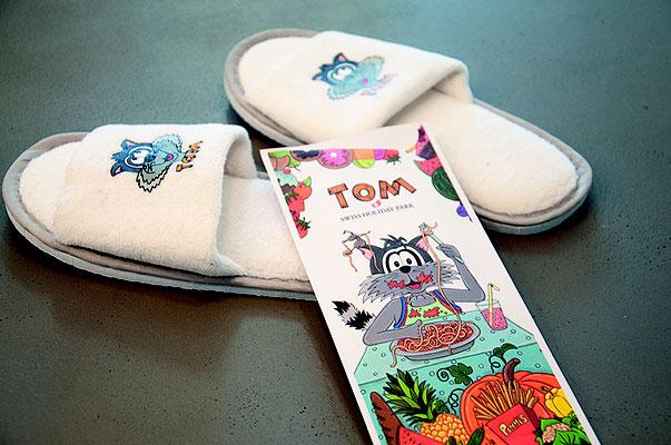 Tom – Der Waschbär – Merchandising Produkte