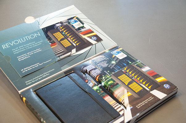 HP Schweiz – Mailingbox für Kundenevent