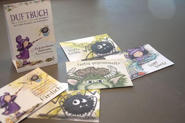 KaleaBook – Illustration und Kreation von Postkarten und Merchandising Artikeln