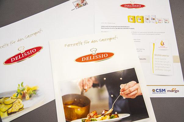 Margo-CSM Schweiz AG – Redesign des Brands «DELISSIO»