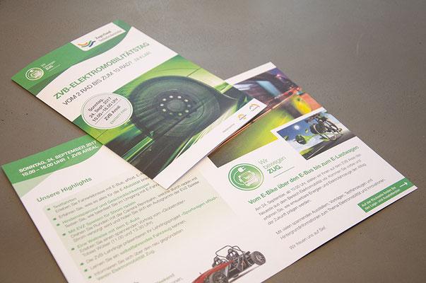 Zugerland Verkehrsbetriebe (ZVB) – Design Auftritt Elektromobilitätstag