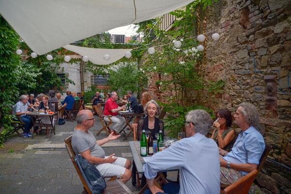 Sommerfest im Innenhof