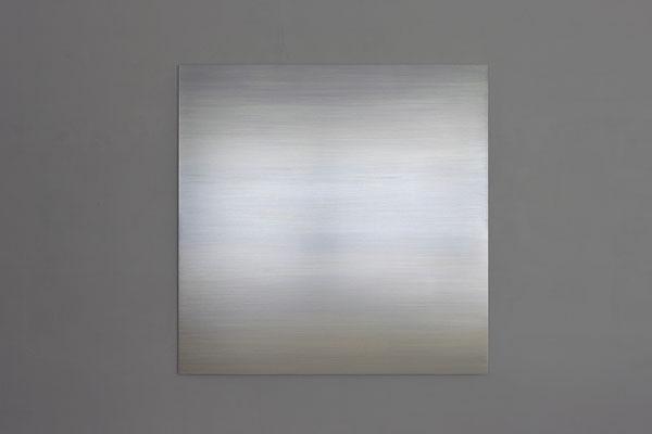 "Rosa M Hessling, ""ANS LICHT VI"", 2010, Pigment, Lack auf Aludibond, 120 x 120 cm"