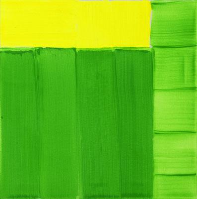 Japanese Siteplan 2, Pigment/Acryl/Leinwand, 50x50 cm