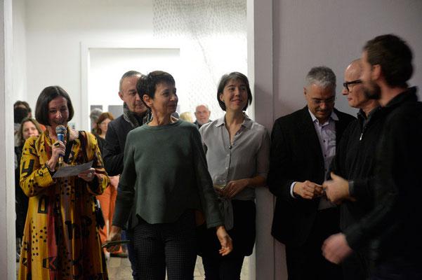 Eröffnung invisible_limits: Victorine Müller, Mareike Lee, Raimund Menges