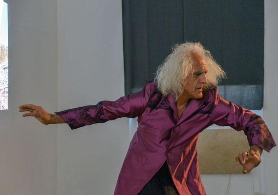 """Live-Performance """"Ich Don Quijote"""" von Mohsen Hosseini (IR)"""