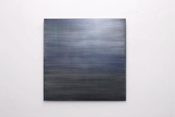"Rosa M Hessling, ""ANS LICHT V"", 2010, Pigment, Lack auf Aludibond, 120 x 120 cm"