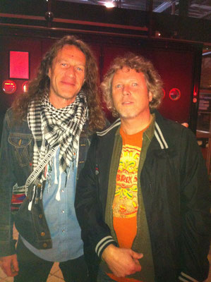 With Richard Turner, Blackberry Smoke - Melkweg NL 2014