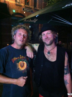 With Devon Allman - North Sea Jazz Club Amsterdam