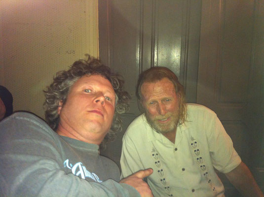 With Francis 'Rocco' Prestia (that nasty Tower of Power bass) - Paradiso, Amsterdam