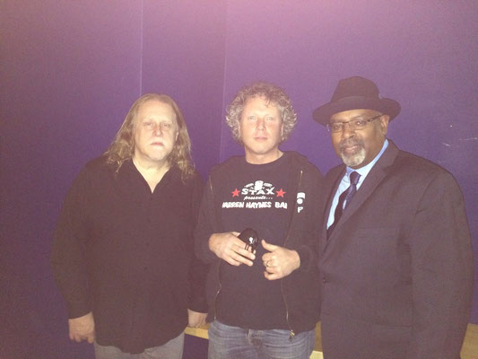 With Warren Haynes & Junior Mack, R&B Night, Oosterpoort Groningen May 2015