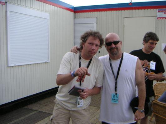 With Kim Wilson - Peer, Belgium